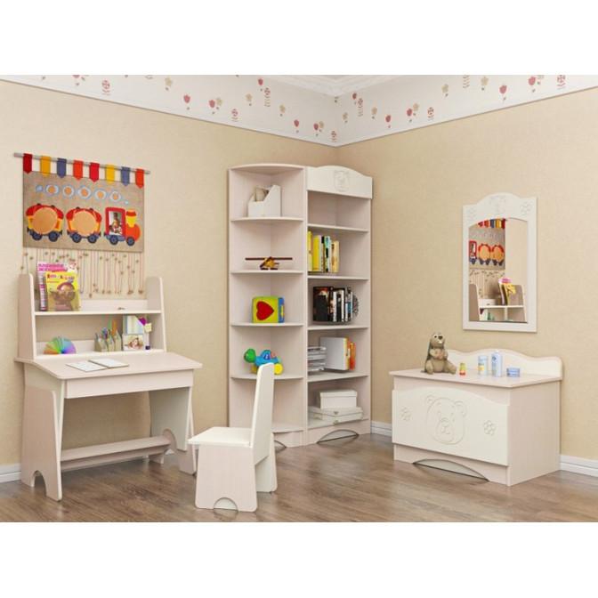 Детская комната Мишка Ваниль + венге светлый Вальтер