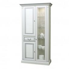 Шкаф с витриной Набукко Скай