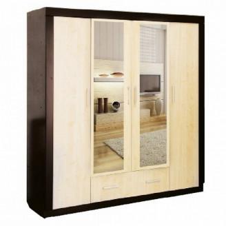 Шкаф 4-х дверный Виктория DA-KAS