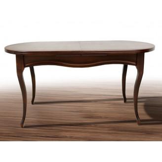 Стол раскладной Оливер 150  + 50*84,5 Орех темный Микс Мебель