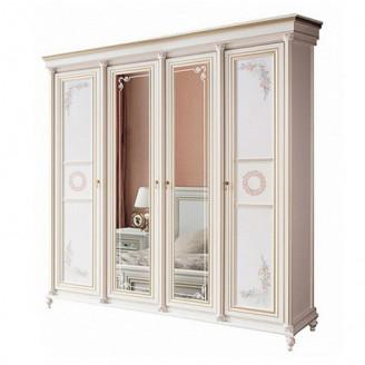 Шкаф четырехдверный NEW Принцесса Скай